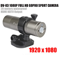 Waterproof Sports DV H.264 Full HD For Bike/Diving/Surfing/Skydiving 1080P FULL HD Sport Camera 1920*1080 DV-03