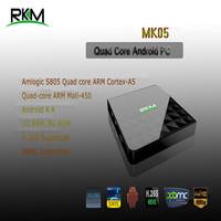 RKM MK05 Quad core MINI PC 1G RAM,8G ROM Amlogic S805 HDMI Optical Ethernet WiFi Android4.4 [MK05]