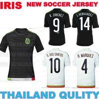 15 16 mexico jersey best quality 2015 2016 jerseys mexico away soccer jerseys white  CHICHARITO 14 JERSEYS G DOS SANTOS CUSTOM