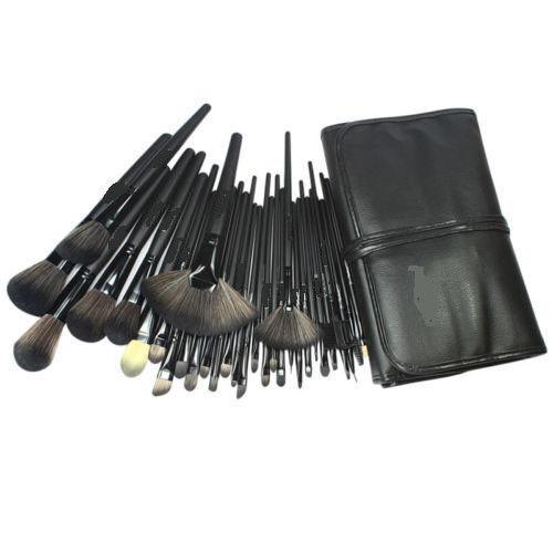 Superior Professional Soft Cosmetic Makeup Brush Set Kit + Pouch Bag Case Woman's 32 Pcs Make Up Tools Pincel Maquiagem(China (Mainland))