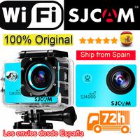 100% Original SJCAM SJ4000 WIFI Action Camera Waterproof Go pro Camera 1080P FullHD Helmet Camera Underwater Sport DV not Gopro