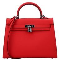 Bagroo Genuine Leather Padlock handbags Shoulder handbags Cross body handbags everyday bag for women