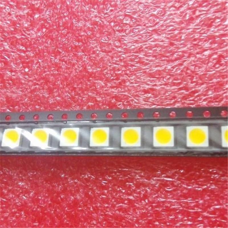 Free shipping high quality led smd 5050 leds lamp 12-15lm smd leds chip 5050 warm white for led light string par light celling#(China (Mainland))