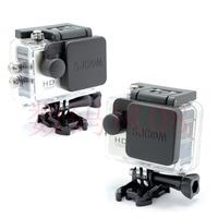 SJ4000  Lens Cap Cover And Hood Compatible For SJ4000 SJ5000 SJCAM WIFI Camera Accessories