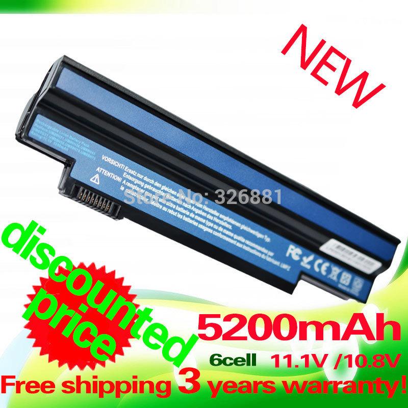 Acer One Battery 5200mah Black Battery For Acer