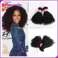 2pcs Good Quality Brazilian Kinky Curly Virgin Hair Bundle,Ali Favorite Human Hair Weave,Brazilian Afro Kinky Curly Virgin Hair