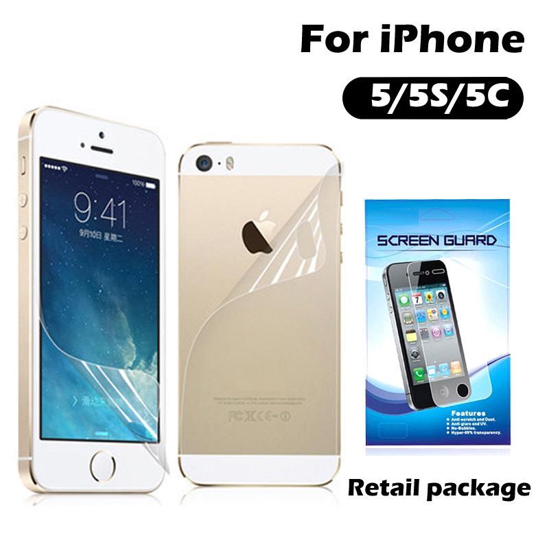 Защитная пленка для мобильных телефонов LCD & apple iphone 5 5s