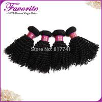 4pcs lot Unprocessed Hair Kinky Curly Virgin Malaysian Afro Kinky Curly Weave 6A Virgin Human Hair Bundles  Human Weaving Hair