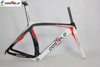 costole frame Full carbon fiber bike frame 2015 costelo road bike carbon frameset XXS,XS,S,M,L free shipping