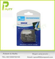 2PK compatible for P touch M tapes M-K231 MK231 WHITE PT Tape for PT100, PT110