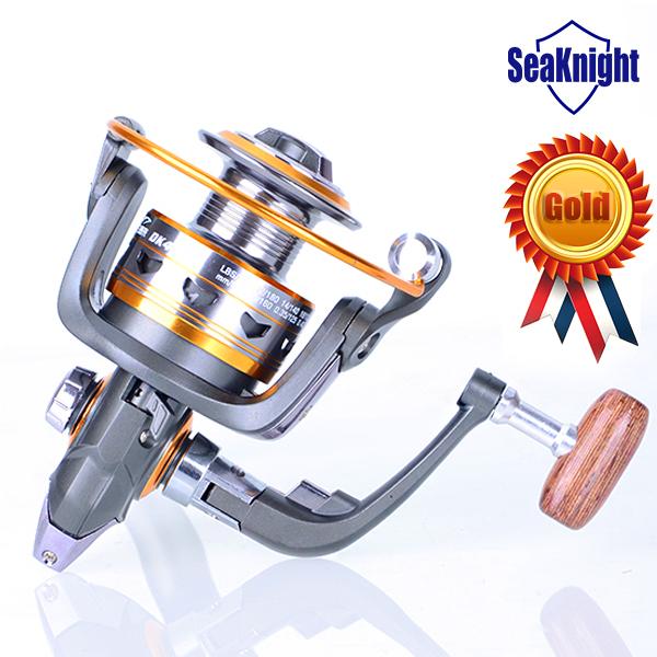 Golden Seller!! Brass Carp Spinning Fishing Reel Salt Water Wheel Trolling Coils Line Roller Carretilha Pesca 11BB(China (Mainland))