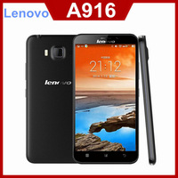 Original Lenovo A916 4G LTE FDD Mobile Phone MTK6592 Octa Core 1GB RAM 8GB ROM 5.5 inch 1280x720 Android 4.4 Play Store in Stock