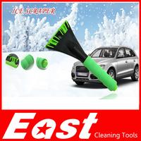 EAST wholesale ice scraper shovel snow wiper sweeper brush tool for car styling blanket poussette 60pcs/lot