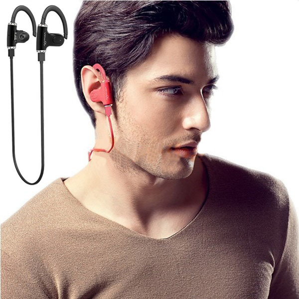 Super Bass Handsfree Sport Wireless Bluetooth Headset Earphone Headphone Earbud Fone de ouvido sem fio w/ Mic Microphone(China (Mainland))