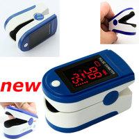 Health care Portable Home CE LED Finger Pulse Oximeter JPD-500B Blood Oxygen SpO2 Saturation Oximetro Health Monitors Free Ship
