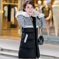 2014 winter new fashion Slim long paragraph pretty thick down jacket women