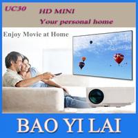 UC30 Projectors HD mini Digital Video Game Proyector Projectors Portable Multimedia player  VGA AV SD USB Slot Remote Control