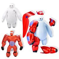 18-50cm 2015 New Big Hero 6 Baymax Plush Dolls High Quality Baymax Stuffed Cartoon Toys Gift Dolls For Kids Brinquedos Birthday