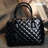 2015 NEW plaid women's handbag shell bag fashion one shoulder handbag messenger bag vintage big crossbody bags