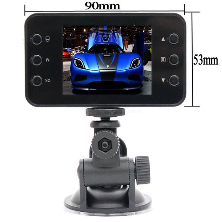 Автомобильный видеорегистратор Dr Motor DVR 30FPS 2.0 Blackbox g 120View 720P K6000