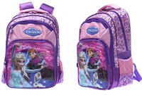 2014 New Children's School Bags brand Hot Frozen Princess Printing School Bags for GIRLS Backpacks Frozen  school bag backpack