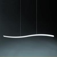 20W Led Acrylic Chandelier Lamp Modern Pendant Lighting dining room lighting S style Lamp LED S Line Light