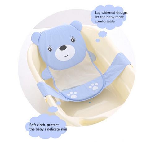 Hot slae Adjustable baby bathtub cartoon pattern Newborn Safety Security Bath Seat Support Baby Shower free shipping(China (Mainland))