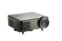 home theater  mini led proejctor with HDMI VGA USB SD support 1080p full HD gome proyector180*320 80 lumens proyecor OEM ODM
