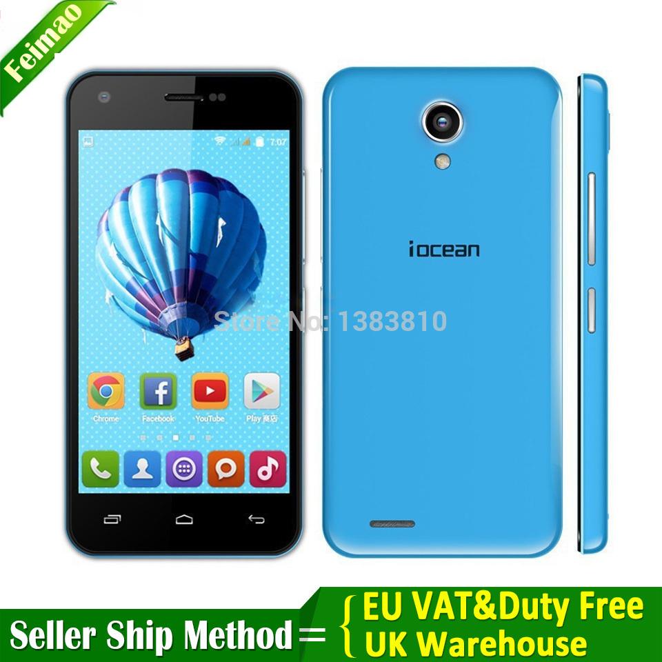 "Original iOcean X1 MTK6582 Quad Core smartphone 4.5"" QHD 1GB+8GB Andriod 4.4 Phone 8MP 3G WCDMA cell phone biggift for sell(China (Mainland))"