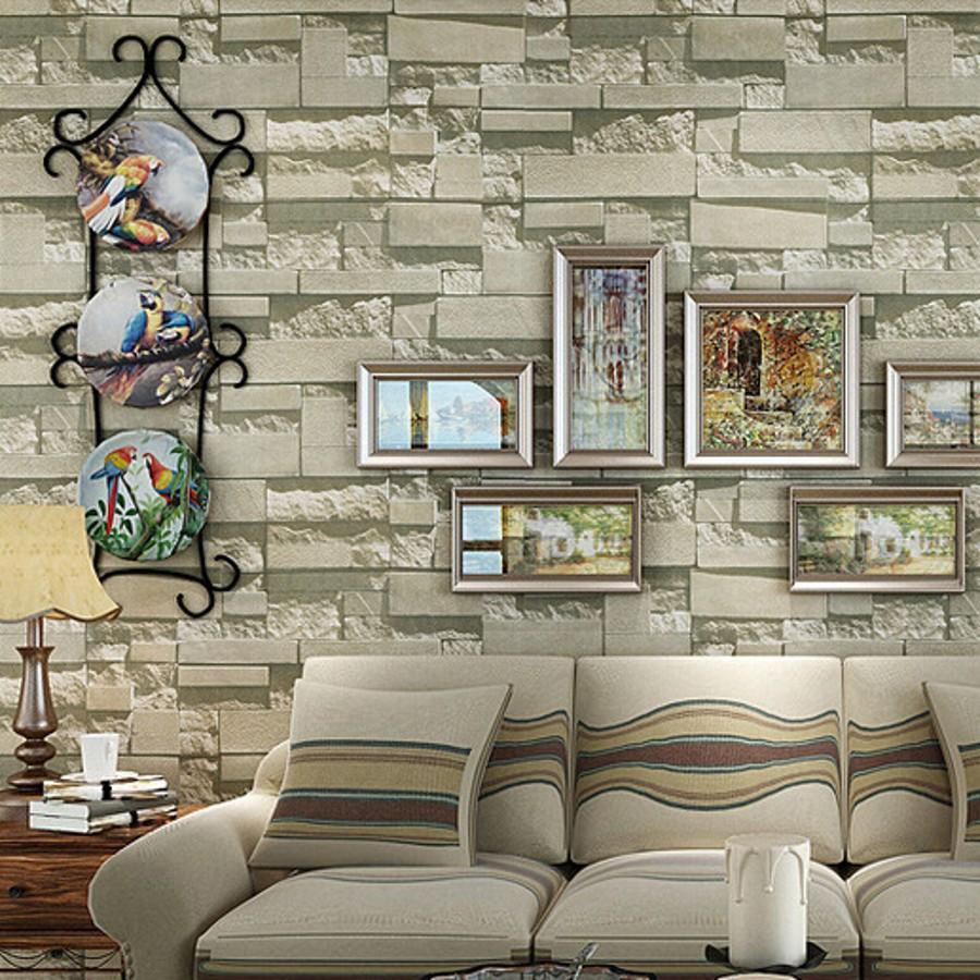 Online kaufen gro handel wall sound insulation aus china - Papeles pintados imitacion piedra ...