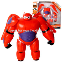 With Original Box. Hot Sale Big Hero 6 Baymax Classic Toys PVC Action Figure Toy Robot Doll For Kids Gift Birthday Gift