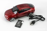 ON SALE 20pcs/lot X6 model wireless handsfree TF card mini car speakers Audio MP3/mp4/TF card free shipping