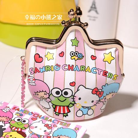 0 hello kitty purse cute bow buckle Crown Women's Fashion Purse(China (Mainland))
