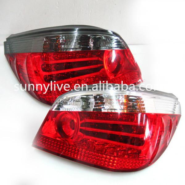 For BMW E60 5 Series 520LI 523LI 528LI 530LI LED Tail Lamp 2007 to 2010 year Red White Color(China (Mainland))