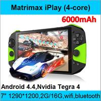 "matrimax iPLAY 7 Nvidia Tegra 4 Quad core 1.8GHz Android 4.4 Handheld Game 7"" IPS Screen 1920*1200 2G RAM 16G Rom Bluetooth WiFi"
