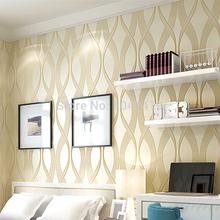 modern striped wallpaper designs for background art purple beige dak khaki glitter wall paper papel de parede 3d tapete(China (Mainland))