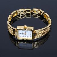 Relogio Feminino New 2015 Fashion Watches Women Luxury Table Wristwatches Ladies Women Watch Bracelet Band Gold  Quartz Watch