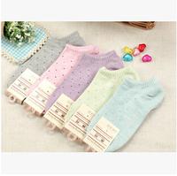 5010 New brand girl female lady  boat Socks  Women Socks Brand Socks  Women's Socks cotton 5 pairs /a lot