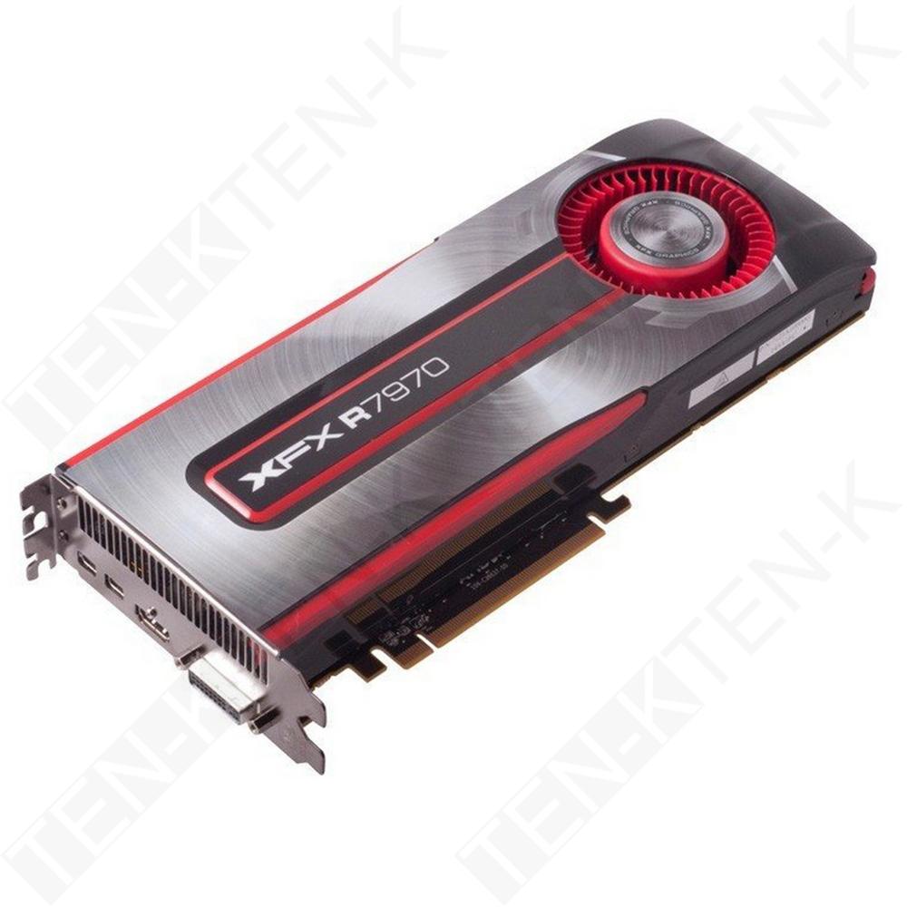 XFX King Card ATI Radeon HD 7970 3GB GDDR5 2048SP 5500MHz HD3D HDCP Eyefinity HD7970 R7970 VGA Graphics FullHD Card for PC(China (Mainland))