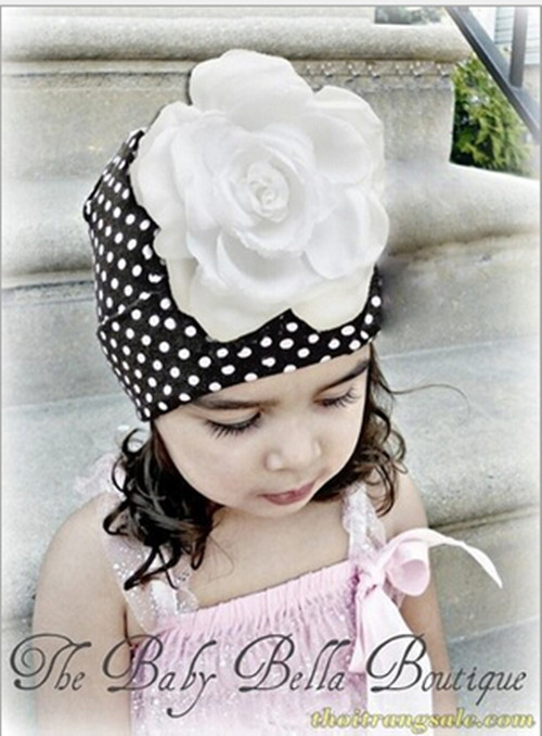 Cute winter baby girl boy hat newborn photography props hats with pink flower for all kids boys clothing and accessories(China (Mainland))