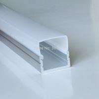 20m a lot, 1m per piece, Inner: 16.2mm, Aluminum led profile for double row led strips light, aluminum led strip light housing