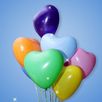 "20pcs/lot accept mixed color Birthday wedding event party supplies decoration 12"" imported heart shape latex balloons"