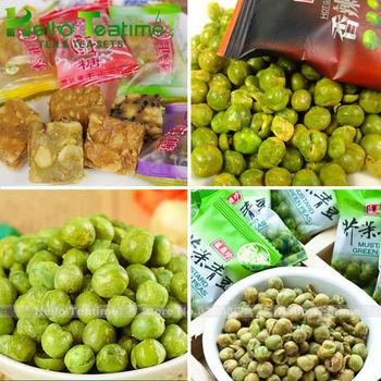 [ ht! ] [ вкус ] всего 95 г арахисовое конфеты ( 5 шт. ) и повезло боб ( 60 г ) хрустящие ...