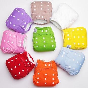 1 шт. детские регулируемые подгузники / дети ткань пеленки / многоразовые подгузники ...