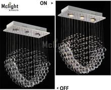 Modern Luxury Spiral Crystal Chandelier Pendant Hanging Lamp Crystal Lighting Fixtures Home Decorative Luminiare(China (Mainland))