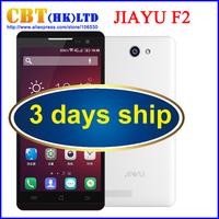 2015 Original JiaYu F2 4G FDD LTE Mobile Phone MTK6582 Quad Core Android 4.4 5 Inch IPS 1280X720 2GB RAM 16GB ROM 8.0MP Dual Sim