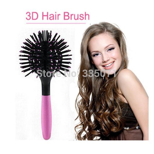 Trendy 3D sphérique peigne Massage brosse Hair Salon professionnel ...