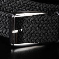 Brand Luxury men luxury fiber belts Fashion Black/Brown Korean version elastic waist belts free shipping MBP0092Y08A