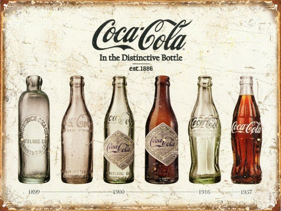 2014 Hot Sale Tin Signs Coke Bottle Evolution Poster Prints high quality picture nice movie style custom poster 50x75cm(China (Mainland))