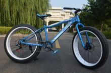 "Snowmobile Groupset 7-speed Beach Cruiser Original  26"" Fat Tire Bike Fatboy Bicycle Big Tire Snow Bike White with black/blue(China (Mainland))"